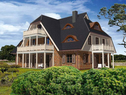 Neubau von 5 Ferienhäusern im Ostseebad Dierhagen